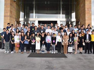 สมาคมการพิมพ์ไทย ร่วมกับกลุ่ม Young Printer Group จัดกิจกรรมเยี่ยมชมสายออกบัตรธนาคาร ธนาคารแห่งประเทศไทย นครชัยศรี